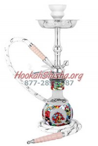 Ed Hardy Hookah - White - Junior 18""