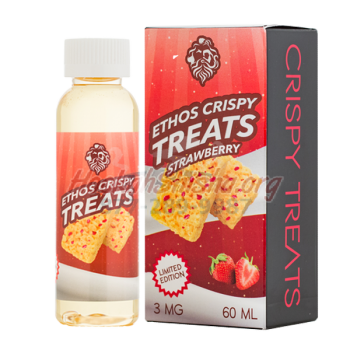 Ethos Crispy Treat - Strawberry Crispy Treat 60ml.