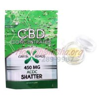CBD SHATTER: ACDC: 450 MG for WAX/CONCENTRATE VAPE PEN RIGS