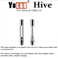 YOCAN HIVE WAX AND THICK OIL ATOMIZER REPLACEMENT CARTRIDGES