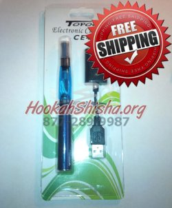 Refillable Rechargeable Hookah Pen With Charger: Large Battery 1100 Mah