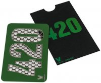 Color 420 Metal Custom Herb Grinder Credit Card