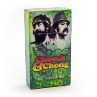Cheech and Chong Flip Top Cigarette Case 100mm Reflection