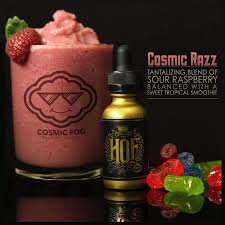 Cosmic Razz by HOF eLiquid