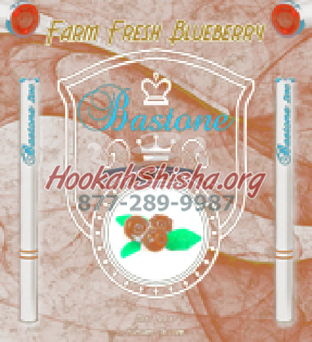 Bastone Premium E-Hookah Sticks Refill: Farm Fresh Blueberry