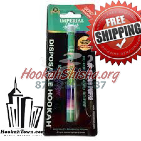 Imperial Nicotine Free Hookah Stick: Minty Grape : 600 Puffs
