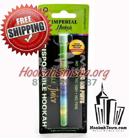 Imperial Portable Hookah: Jungle Juice: 1500 Puffs