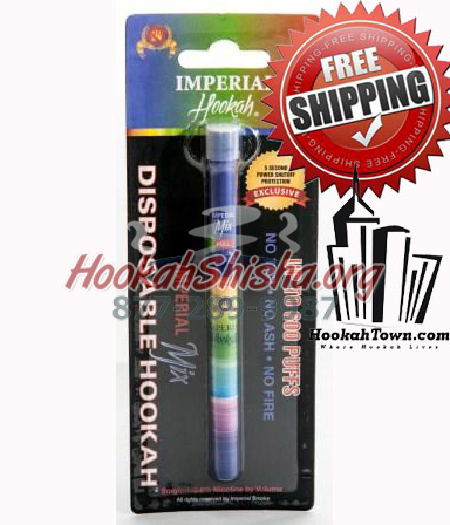 Imperial Portable Disposable Hookah Pen: Imperial Mix: 1500 Puff