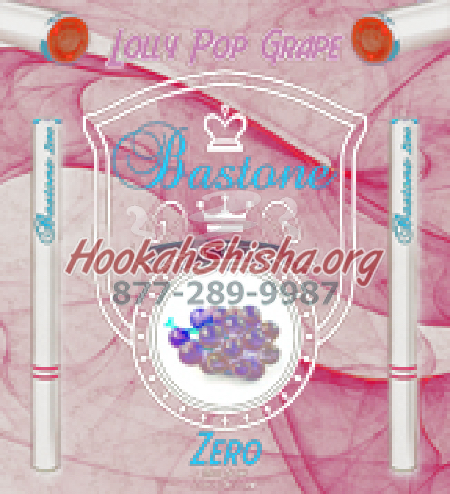Bastone Liquids Zero: Nicotine Free: Lolly Pop Grape