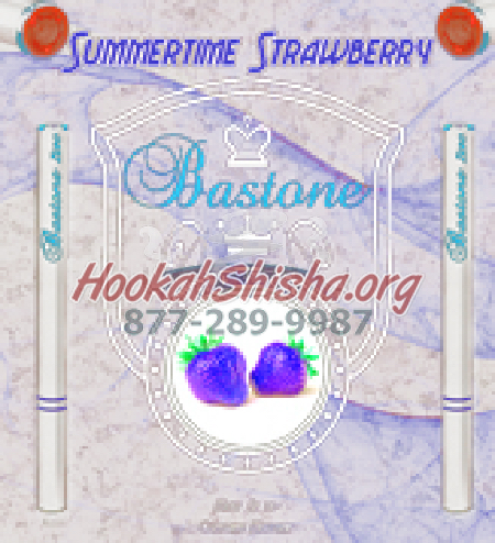 E Cig Liquid Bastone Premium: Summertime Strawberry