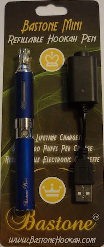 Bastone Dura: Rechargeable Hookah Vapor Pen With Charger: Blue : Shisha Pen