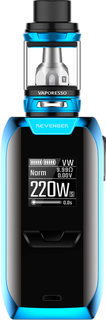 Blue Vaporesso Revenger 220 W Starter Kit + 2 LG 18650 Batteries
