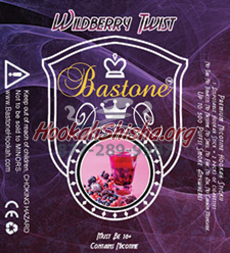 Bastone Premium E-Cig Liquid: Wildberry Twist: 500 Puffs