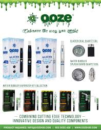 Ooze Vape Pen & Water Bubblers