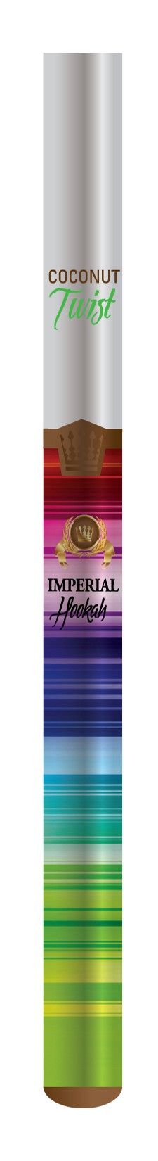 Imperial Hookah: Coconut Twist : Portable Hookah Stick