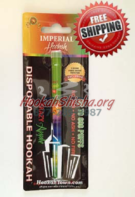 Imperial Portable Hookah Stick : Crazy Apple: 600 Puffs