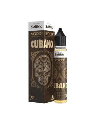 SaltNic Ejuice: 30ml Bottle: Myle Flavor: Cubano (25mg or 50mg) by VGOD