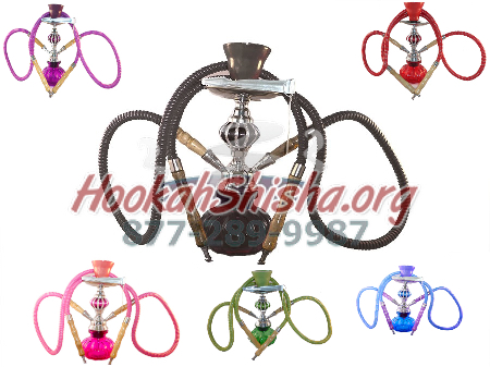 Small Vortex Zen Hookah Single Hose and Double (Free Shipping)
