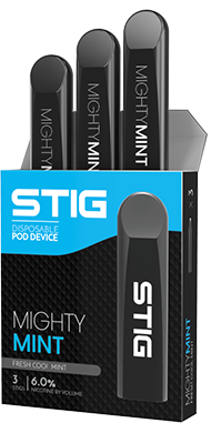 STIG - Ultra Portable and Disposable Vape Device Nighty Mint