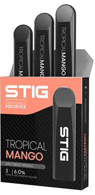 STIG - Ultra Portable and Disposable Vape Device